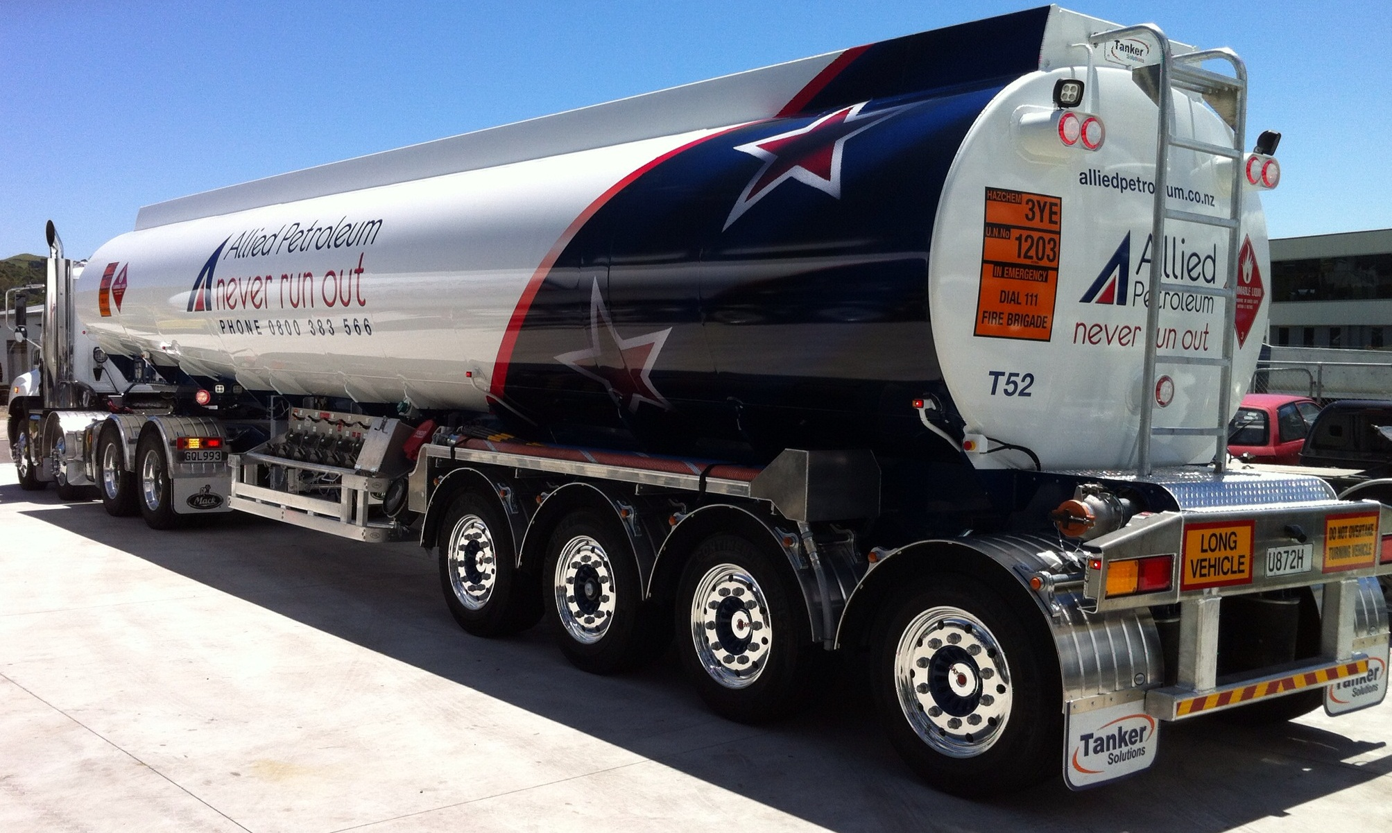 Build A Truck >> Tanker Solutions supporting the Tank and Trailer Industry of New Zealand